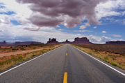 Utah - on the road to Monument Valley